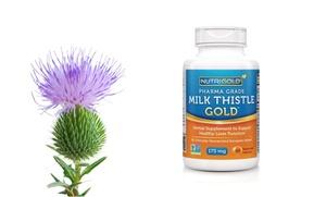 NutriGold Milk Thistle Gold Herbal Supplement