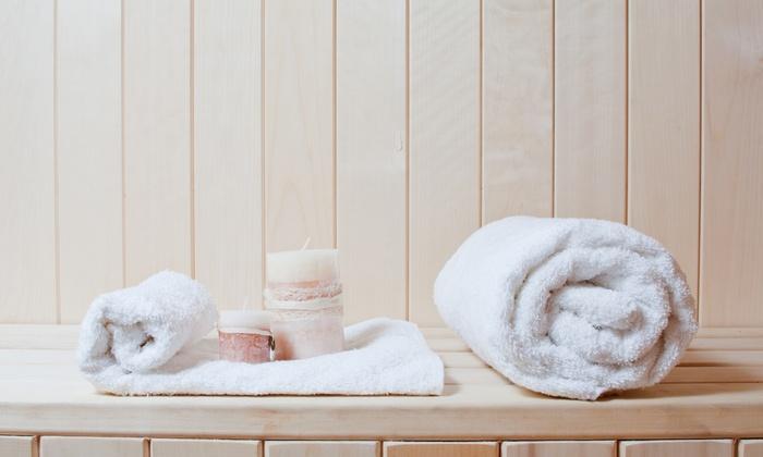 Mi Sweats (auraglow) - Novi: $60 for $120 Worth of Sauna Sessions — MI Sweats Infrared Sauna & Wellness Studio