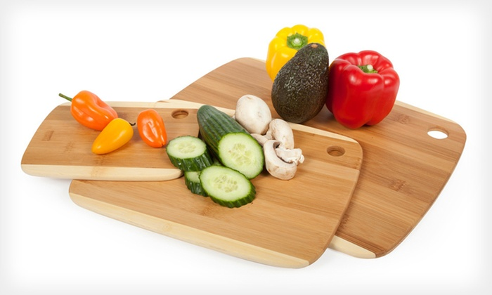 Three Core Bamboo Classic Cutting Boards: $22 for a Set of Three Core Bamboo Classic Two-Tone Cutting Boards ($47.46 List Price). Free Shipping and Free Returns.
