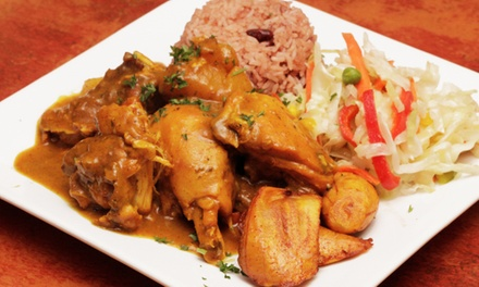 Jamaican Food at Island Spice Jamaican Cuisine (Up to 46% Off). Three Options Available.