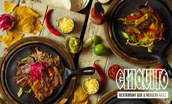 Chiquito's: Two-Course Tex-Mex Meal for Two