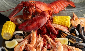 Backyard Bayou: Crab Plates for Two or Oysters and Drinks for Two at Backyard Bayou (Up to 50% Off)