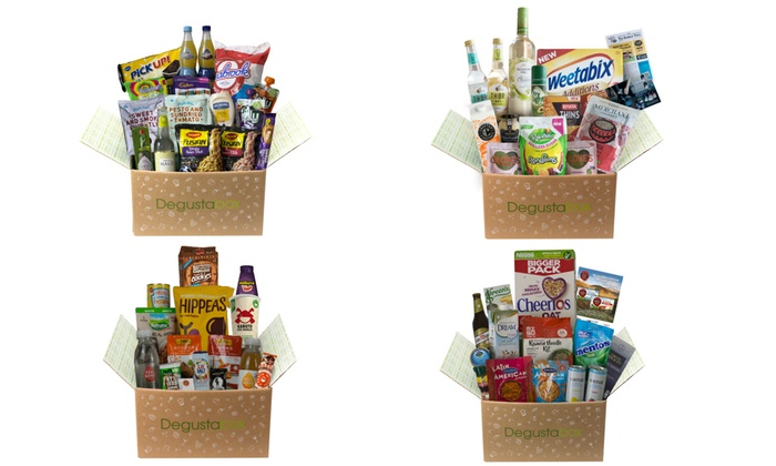 Degusta Mystery Monthly Food Box Groupon