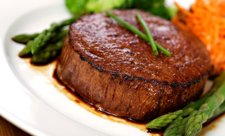 Upscale American Dinner at Wild Horse Grill (Up to 40% Off). Two Options Available.