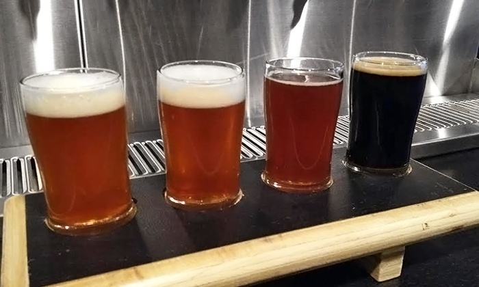 Broad Brook Brewing Company - Robertson: Brewery Tour with Beer Flights and Glasses for Two or Four at Broad Brook Brewing Company (Up to 50% Off)