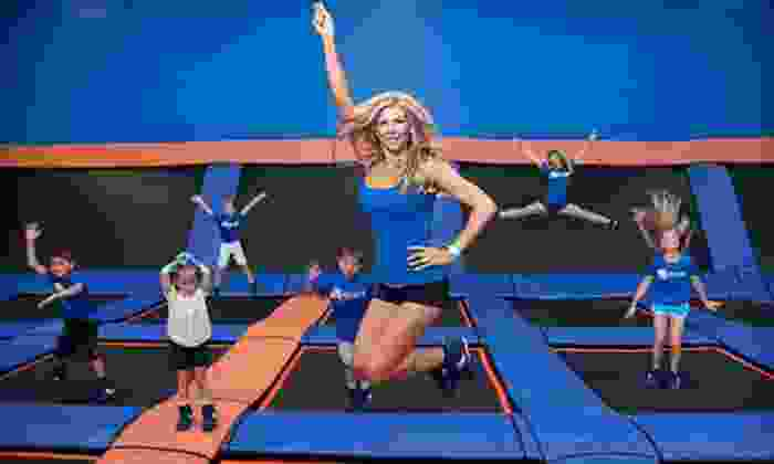 Sky Zone San Diego - Eastlake Business Center: 90-Minute Weekday or Weekend Open-Jump Session at Sky Zone San Diego (Half Off)