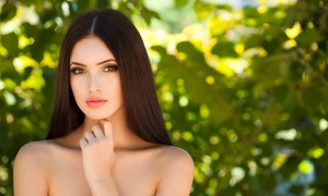 Expertise Beauty & Spa: Women's Haircut Package with Optional Partial Highlights or Full Color at Expertise Beauty & Spa (Up to 65% Off)