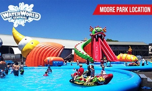 Waterworld Central: $14.50 for a Three-Hour Unlimited Rides Pass for One Person at Waterworld Central - Moore Park ($25 Value)