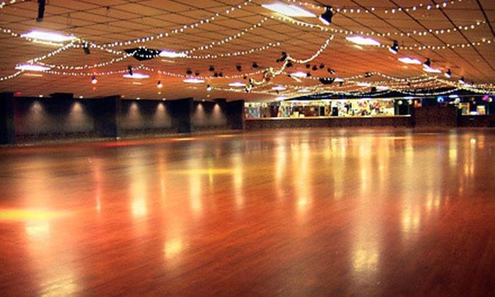 Westlake Skate Center - Garland: New Year's Eve Late Skate Event for 2, 4, or 6 at Westlake Skate Center (53% Off)