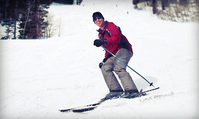 Woodbury Ski Area - Bunker Hill: Skiing Lift Ticket with Lesson or Tubing Lift Ticket at Woodbury Ski Area (Up to 52% Off). Four Options Available.