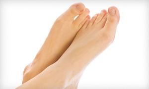Gary B Feldman DPM: PinPointe Laser Toenail-Fungus Treatment for One or Both Feet from Gary B Feldman DPM (Up to 70% Off)