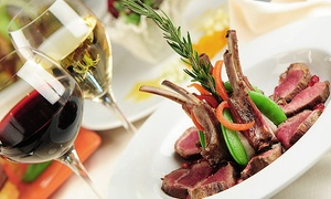 Anaheim White House: Five-Course Dinner with Wine for Two or Four at Anaheim White House (43% Off)