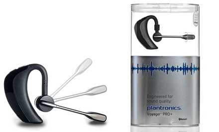 Plantronics Voyager Pro+ Bluetooth Headset. Free Returns.