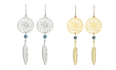 Dream Catcher Necklace or Earrings