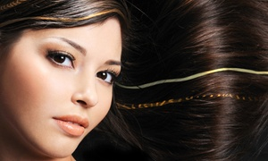 Marina's Hair Styling: Brazilian Blowout with Optional Haircut at Marina's Hair Styling (Up to 72% Off)