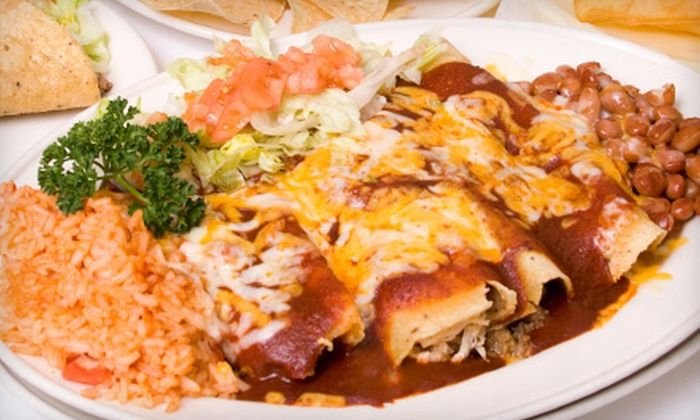 Agave - Sharon: $12 for $20 Worth of Mexican Cuisine at Agave