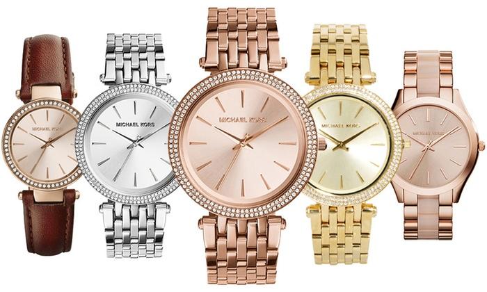 870509355f43 Montres MICHAEL KORS pour femme sélection exclusive   Groupon Shopping