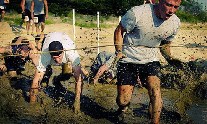 The Bone Frog Challenge - Berkshire East Ski Resort: $59 for Entry to The Bone Frog Challenge Mud Run ($120 Value)