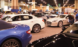Carolina ADA: $12 for Charlotte international Auto Show Admission for Two from Carolina ADA ($20 Value)