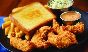 Food and Drinks for Two or Four at Zaxby's (42% Off). Two Locations Available.