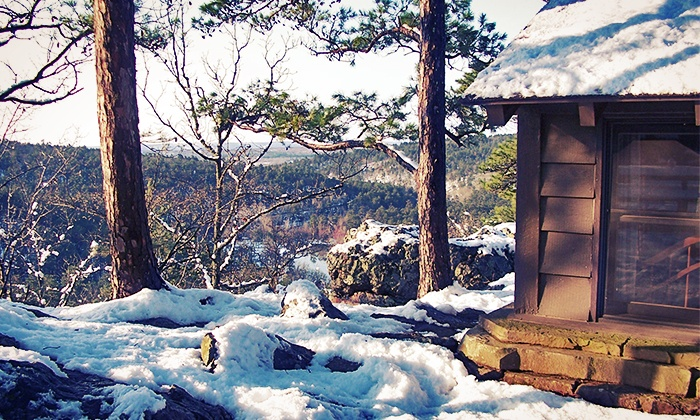 Robbers Cave State Park - Wilburton, OK: Stay in a Lodge Room, One-Bedroom Cabin, or Two-Bedroom Cabin at Robbers Cave State Park (Up to 50% Off)