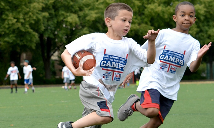 NFL Alumni Hero Youth Football Camps - Multiple Locations: Ohio-NFL Alumni Hero Non-Contact Youth Football Camps for Ages 6-14. Four Locations Available.