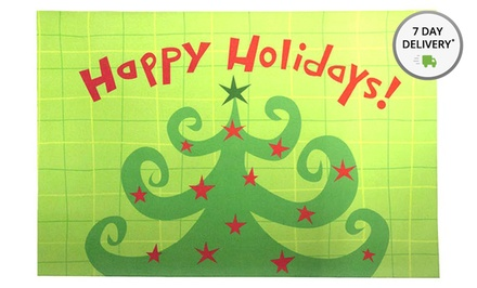 Holiday Kitchen Floor Mat. Multiple Styles Available.