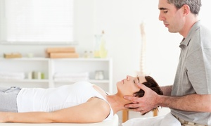 ChiroElite Chiropractic + Rehab: Month of Adjustments and Muscle Therapy for One, Two, or Three at ChiroElite Chiropractic + Rehab (Up to 63% Off)