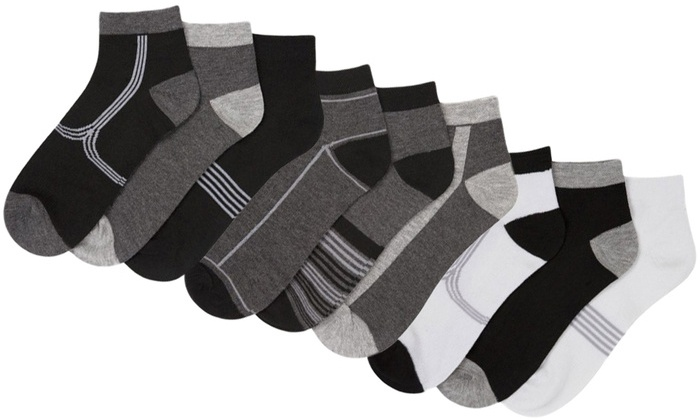 Groupon Goods: 15 Pairs of Beverly Hills Polo Club Men's Sock (Shipping Included)
