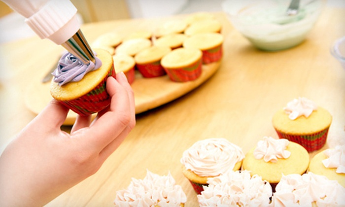 Beach Bum Bakery - Bradley Beach: Cupcake-Decorating Classes for Two or Four Kids or Adults at Beach Bum Bakery (Up to 60% Off)