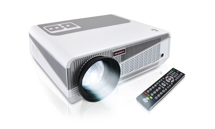 Pyle HD High-Resolution Smart Android TV Projector with Up to 120