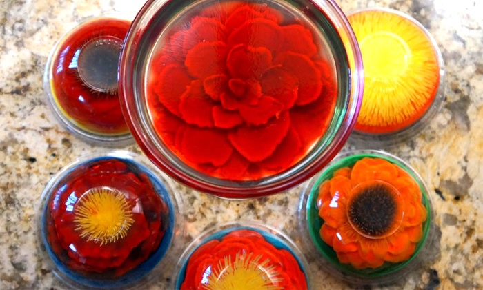 Jell-O Flowers & Creative Desserts - San Francisco: Gelatin Flowers or $30 Worth of Desserts from Jell-O Flowers & Creative Desserts (50% Off)
