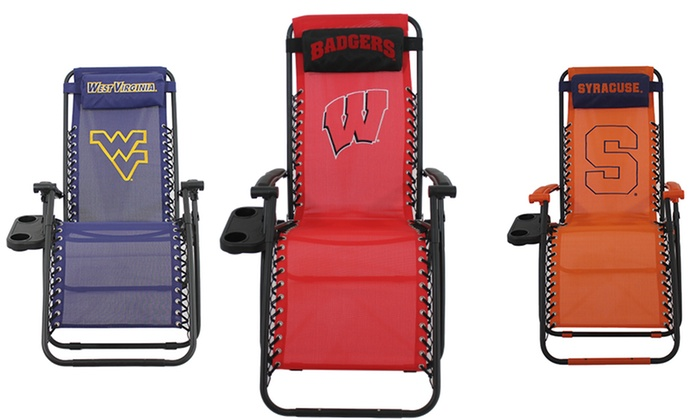 NCAA Zero Gravity Chairs: NCAA Zero Gravity Chair. Multiple Teams Available. Free Returns.