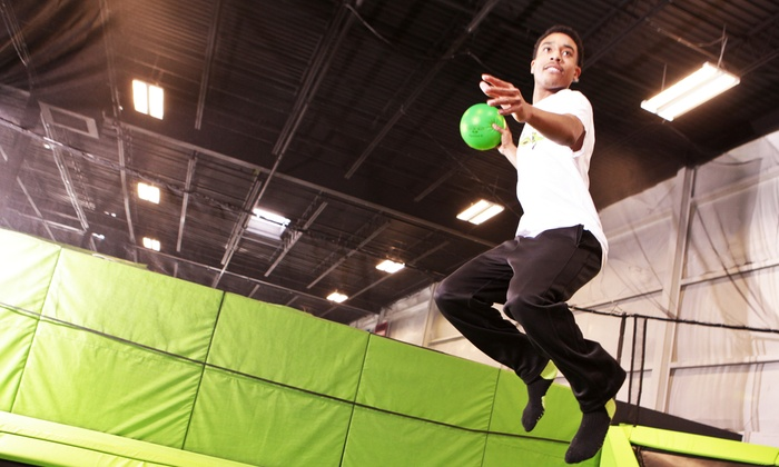 Launch Trampoline Park - Newark - Launch Trampoline Park - Newark : One Hour of Jumping Time for Two or Four at Launch Trampoline Park (46% Off)