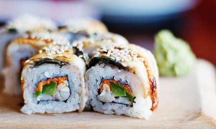 $32 for One Signature and Two Entrees for Two at Aiyoku Steak Sushi and Bar ($47.85 Value)