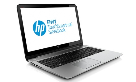 HP ENVY TouchSmart Sleekbook 15.6