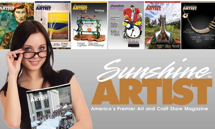 Sunshine Artist Magazine: $20 for $35 Worth of magazine subscription at Sunshine Artist Magazine