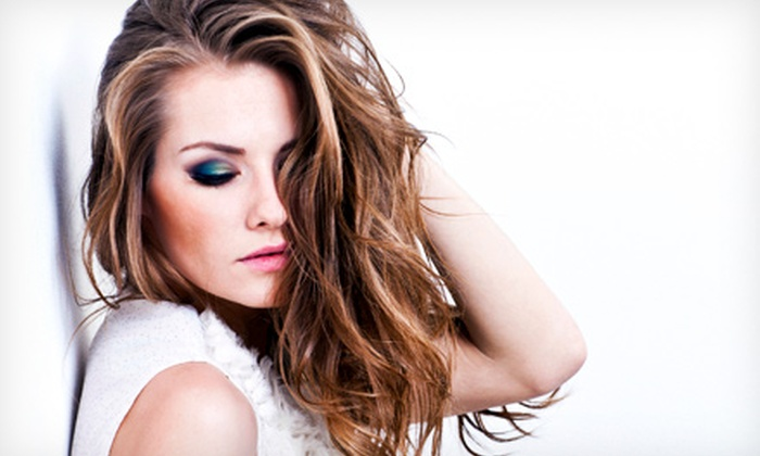Belleza Hair Salon - Curtis Park: Haircut with Style, Conditioning, and Optional Partial or Full Highlights at Belleza Hair Salon (Up to 64% Off)