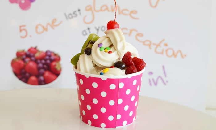Berry Cool Frozen Yogurt - Cypress Creek: $11 for Punch Card for Frozen Yogurt and Drinks at Berry Cool Frozen Yogurt ($18 Value)