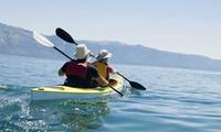 Alquiler de kayak transparente para 2, 4 o 6 personas en playa de Las Canteras desde 24,95 € en Salitre Sport