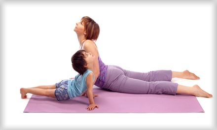 Kids' Yoga Classes at Planet Music and Yoga (Up to 56% Off). Four Options Available.