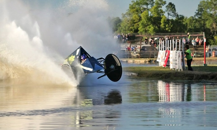 Swamp Buggy Races - Florida Sports Park: Winter Classic Race Package with Pit Experience for Two or Four from Swamp Buggy Races (Up to 59% Off)