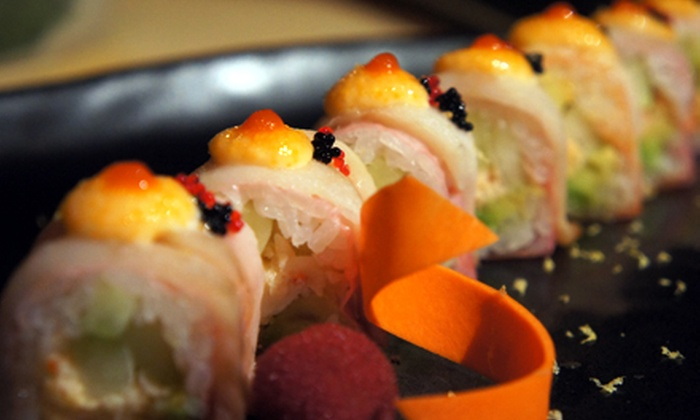 Jpan Restaurant - Multiple Locations: $10 for $20 Worth of Sushi and Japanese Food at Jpan Restaurant