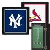 MLB Extreme Fan Dart Cabinet Set