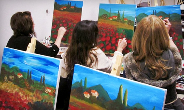 The Artist In Me - Hoover: Two- or Three-Hour Painting Class for Two or Six at The Artist In Me (Up to 63% Off)