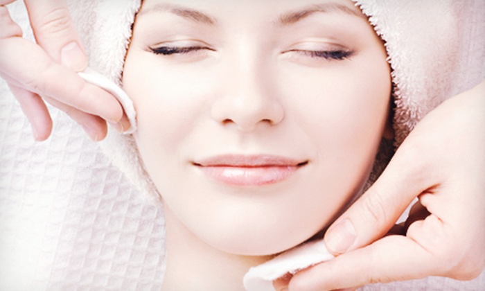 Skin Station - Yonkers: 60-Minute Basic Facial with Eye Treatment, 60-Minute Aromatherapy Massage, or Both at Skin Station (Up to 70% Off)