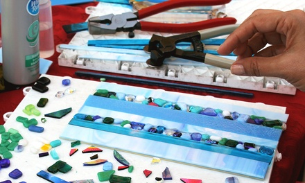 Two-Hour Glass-Fusing Class for One, Two, or Four at Ayer of Glass (Up to 51% Off)