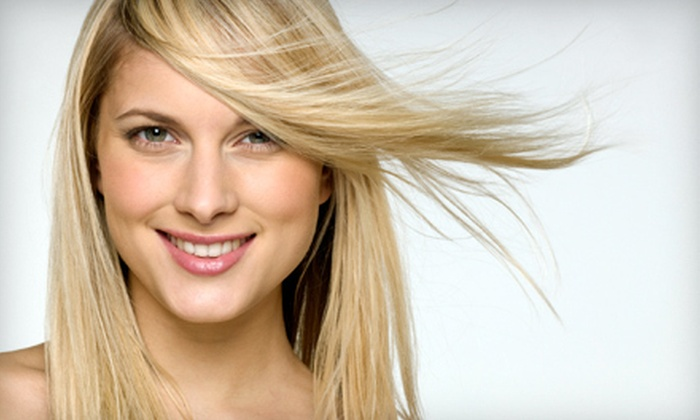 Hollywood Style, Inc. - North Wales: Haircut and Deep-Conditioning Treatment with Optional Partial or Full Highlights, or a Brazilian Keratin Straightening Treatments at Hollywood Style, Inc. in North Wales (Up to 73% Off). Four Options Available.