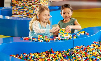 image for Ultimate Flexible Admission for One Child or One Adult at LEGOLAND Discovery Center (Up to 28% Off)
