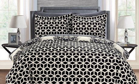 Andorra Reversible Duvet Cover Set